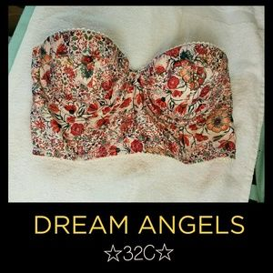 VS DREAM ANGELS Strapless Bra *32C*